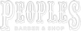 Peoples Barber Logo